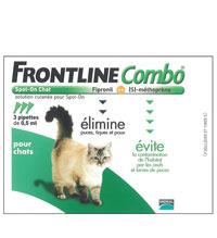 Antiparasitaires puces et tiques quand votre chat a des puces - Frontline combo chat pas cher ...