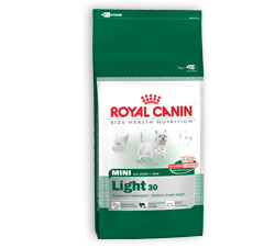 Croquettes Royal Canin Mini-Light