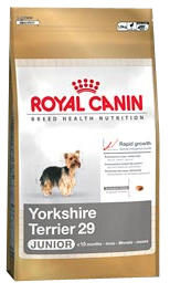 Croquettes Royal Canin Yorkshire Junior 29