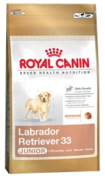 Croquettes Royal Canin Labrador Junior 33